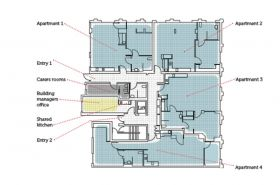 A Floor Plan of the Abbotsford RIPL building