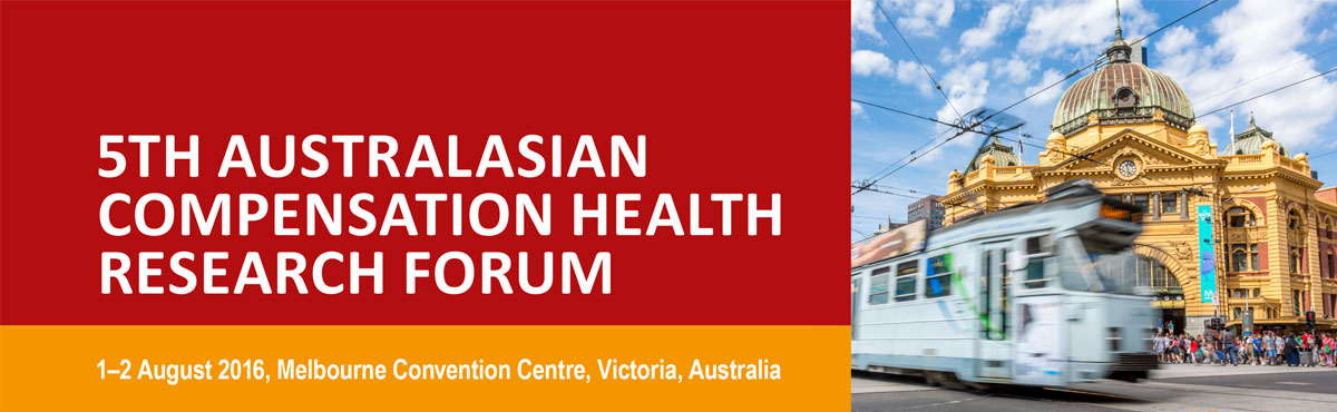 5th Australasian Compensation Health Research Forum